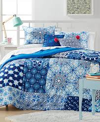 Full Xl Comforter Sets Leah Patchwork Comforter Sets Bed In A Bag Bed U0026 Bath Macy U0027s