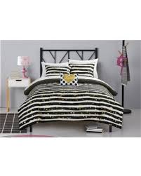 Polka Dot Bed Set New Savings On Latitude Gold Glitter Stripe And Polka Dot Bed In A
