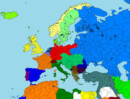 World War I Alliances Map by Europes Military Alliances In World War I 1914 And Europe Map