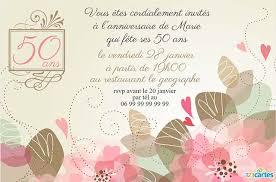 texte anniversaire de mariage 50 ans carte invitation 50 ans de mariage texte photo de mariage