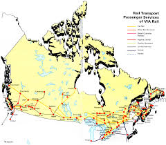 Road Map Of Canada by Transport Map Of Canada Canada Transportation Map Canada Road