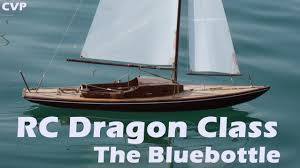 Radio Controlled Model Boat Plans Cvp Rc Dragon Sailing Class The