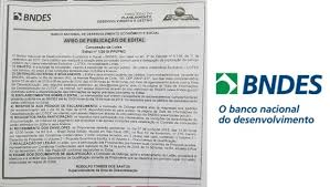 bid 4 it bndes publishes bid for lotex and auction will be on june 14