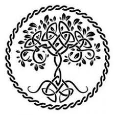 celtic tree of stencil designs from stencil kingdom polymer