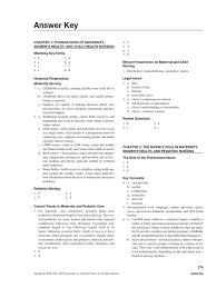maternal child nursing study guide answer key luteinizing