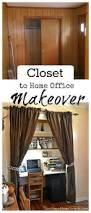 desk closet desk ideas pinterest home office in a closet from