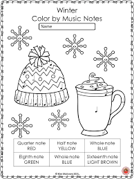 winter music coloring sheets 26 winter music coloring pages