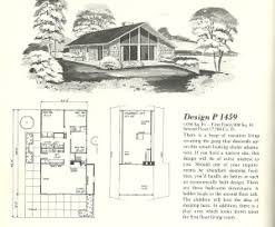vacation house plans vintage house plans 1960s vacation homes chalets and a frames