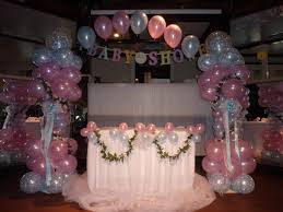 balloons decoration remarkable party balloons decorations for enthralling baby shower
