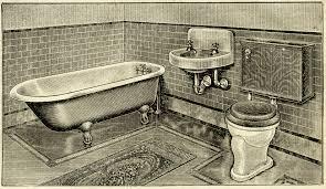 vintage bathroom clip art old design shop blog
