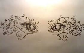 butterfly eye on lower back photo 1 photo pictures and