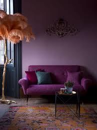 Purple Sleeper Sofa Living Room Match A Purple Sofa Living Room Decor Purple Sofas