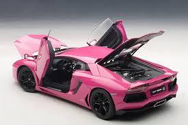 pink lamborghini gallardo pink lamborghini aventador scale model autoevolution