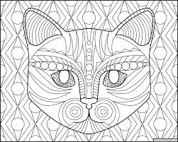 don u0027t eat the paste cat face coloring page