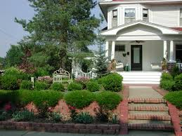 home design ideas front symmetrical landscaping ideas front yard manitoba design