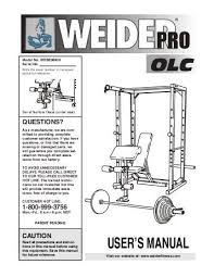 Weider Pro 125 Bench Assembly Before Beginning