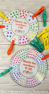 printable number wheel cards free printable numbers printable