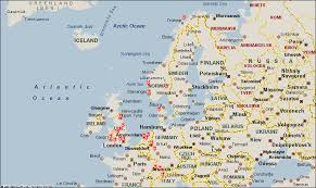 map of europe scandinavia map europe scandinavia
