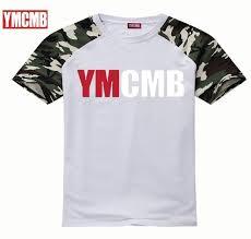 ymcmb new mens summer leisure t shirt fashion slim sleeve t