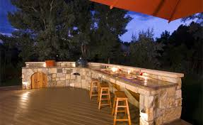 outdoor kitchens top 8 countertop materials pools by design