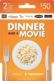 e gift card amc discount darden fandango 50 dinner and a gift card pack orange darden