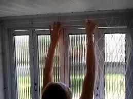 Fabuloso Como montar e desmontar a tela de proteção da janela - YouTube &UZ47