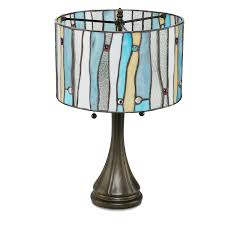 Glass Table Lamps Serena D U0027italia Tiffany Style Table Lamps Contemporary Mosaic