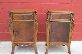 antique nightstands and bedside tables antique night stands antique nightstands with marble top oak barber