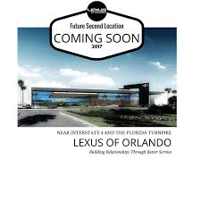 lexus is 350 for sale orlando new lexus of orlando location planned for south orlando fl
