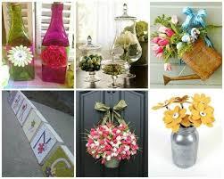 oggetti decorativi casa decorazioni primaverili fai da te idee per la casa foto