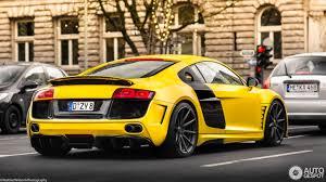 Audi R8 Yellow - audi r8 prior design 20 december 2016 autogespot