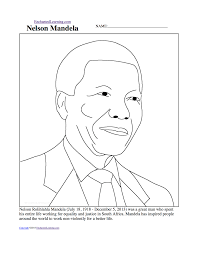 Blank Map Of Africa Pdf by Nelson Mandela Enchantedlearning Com