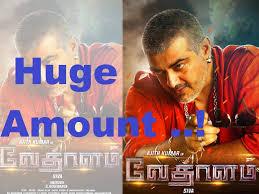 vethalam sold for huge amount ajith vethalam movie