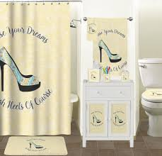 Bathroom Set High Heels Bathroom Accessories Set Potty Training Concepts