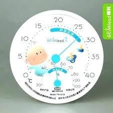 temperature chambre bébé temperature et hygrometrie ideale chambre bebe d negative open
