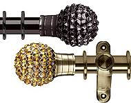 Bling Curtain Rods Jewelled Curtain Rods U0026 Poles Diamante Bling Curtain Poles