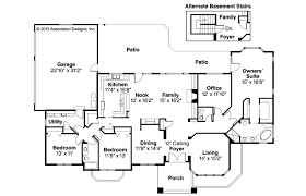 southwestern house plans southwest house plans santa fe associated designs small
