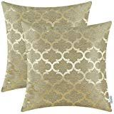 gold decorative pillows inserts covers bedding