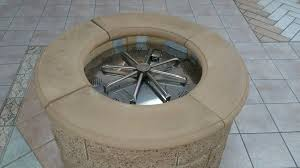 Firepit Burner Masonry Ring