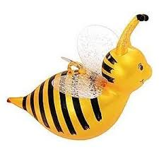 bumble bee glass ornament from bronner s wonderlan