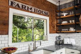 Industrial Kitchen Backsplash by Rustic Freestanding Kitchen Island Country Kitchen Hgtv