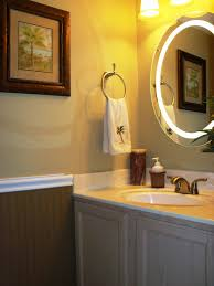 Half Bathroom Remodel Ideas Bathroom Wall Mirror Design For Bathroom Decor With Half