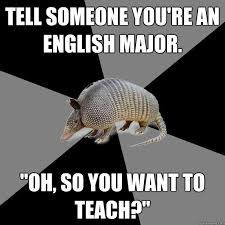 Memes About English Class - the 9 most common misconceptions about english majors and why