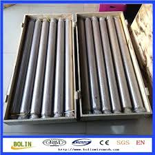 fireplace screen material woven wire mesh metal net burner kit parts