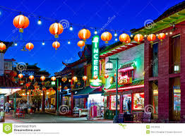 Chinatown Los Angeles Map by Chinatown In Los Angeles Editorial Stock Image Image 24975939