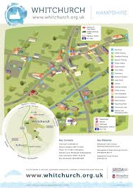 new town centre map for whitchurch whitchurch hampshire