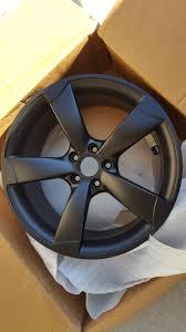audi a4 matte black for sale fs 2012 a4 s line powder coated matte black wheels