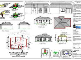 Modern Bungalow House Plans Download Modern Bungalow House Plans In South Africa Adhome