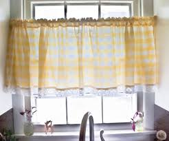 yellow kitchen curtains robust red for black kitchen ideas visi build decor style olpos