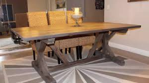build a rustic dining room table expandable dining room table plans with leaves coffee side